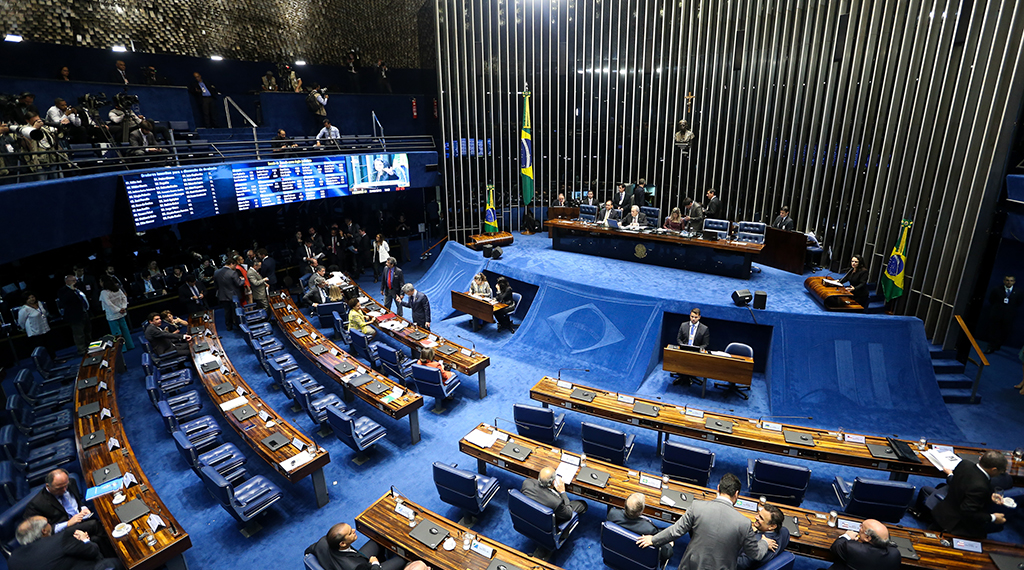 Quinto dia da sessão de julgamento do impeachment no Senado