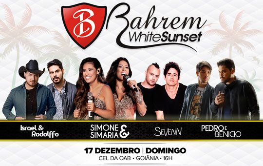 bahrem white sunset