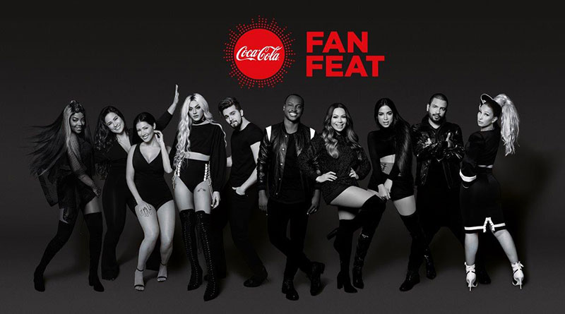 coca-cola fan feat
