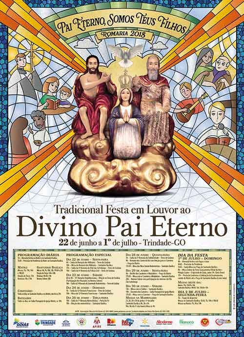 Cartaz Romaria do Divino Pai Eterno