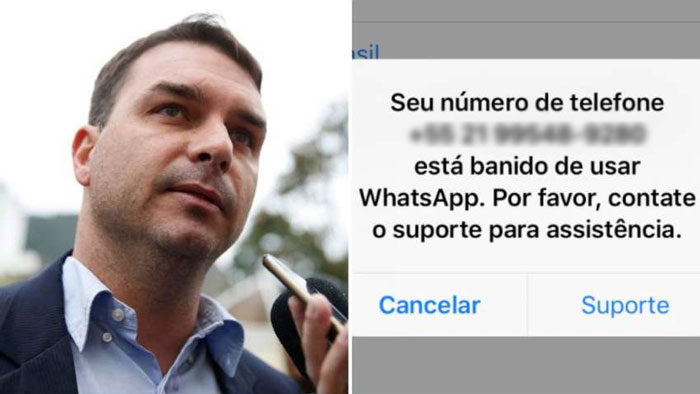 Flávio Bolsonaro - WhatsApp - fake news