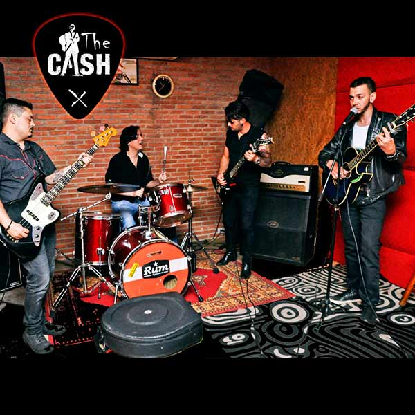 Banda The Cash - homenagem a Johnny Cash